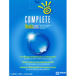 COMPLETE RevitaLens Multi-Purpose Disinfecting Solution multipack 3x360ml 1x60ml